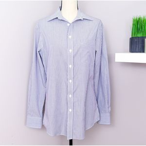 Merona The Ultimate Stripped Button Down Shirt